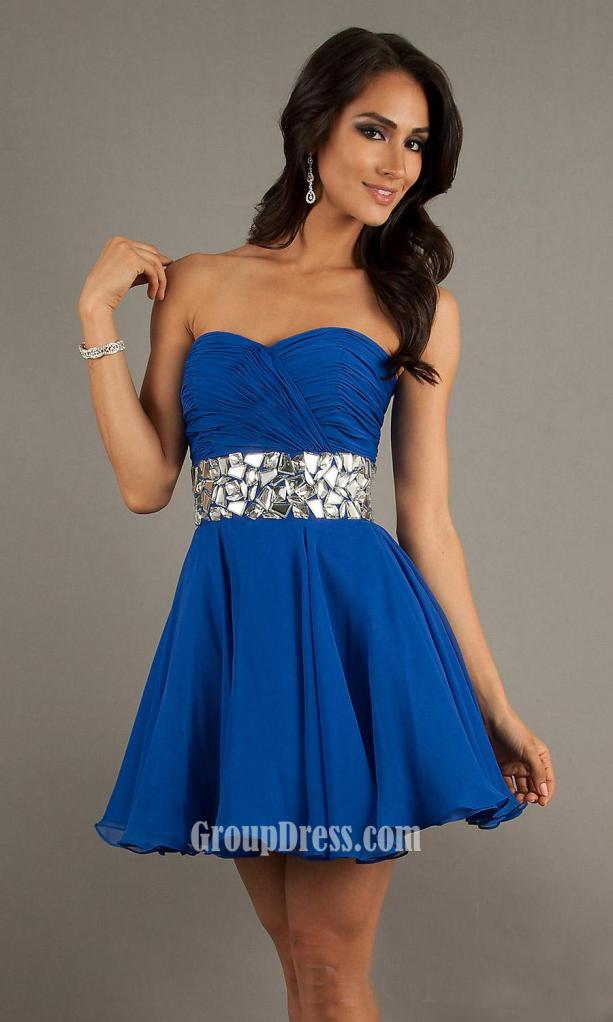 That sparkly blue prom dress makes Elsa a real princess. Think about what you will look like if you wear a blue prom dress. You will absolutely be the most charming one in the whole party. coolzloadwok.ga here offers prom dresses in blue with different styles and sizes.